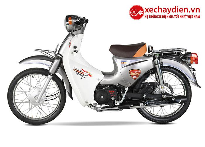 Xe Cub 81 Japan màu bạc