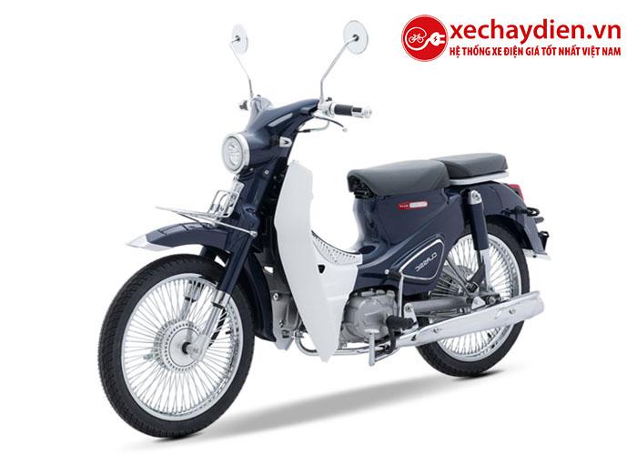 Xe cub Classic new 50cc Thái lan màu xanh cửu long