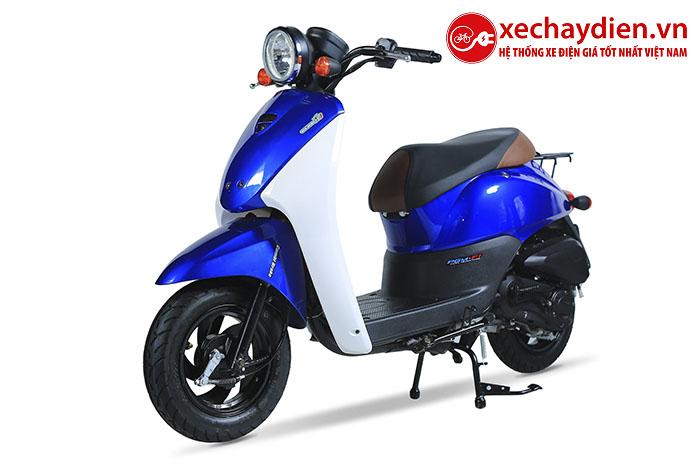 Xe ga 50cc Today Màu Xanh Nước Biến New