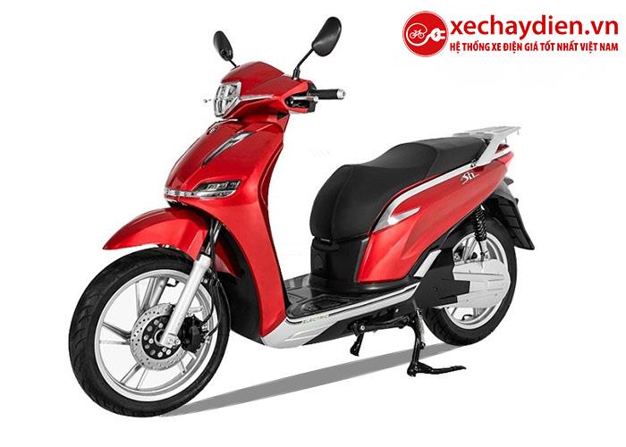 Xe máy điện Pega eSH màu đỏ mới nhất 2020