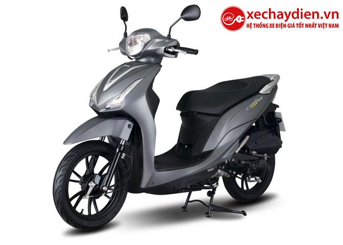 Xe máy Kymco Candy Hermosa 50cc màu xám nhám