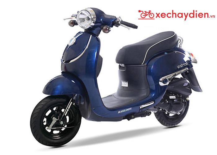 Xe ga 50cc Giorno tem nổi - Màu Xanh Đậm 2020