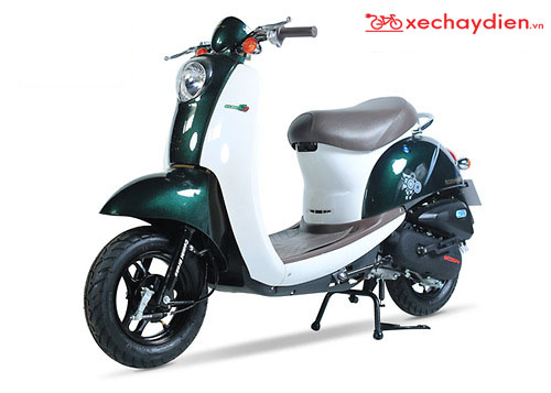 Xe ga 50cc Scoopy Màu Xanh Bộ Đội