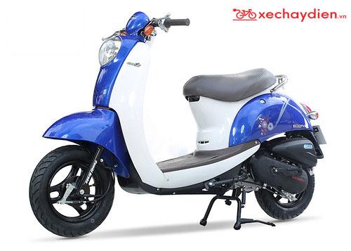 Xe ga 50cc Scoopy Màu Xanh Ngọc Bích