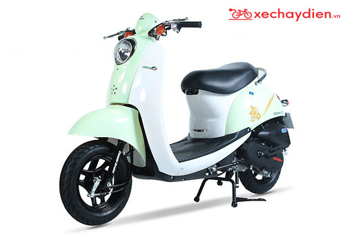 Xe ga 50cc Scoopy Màu Xanh Thiên Thanh