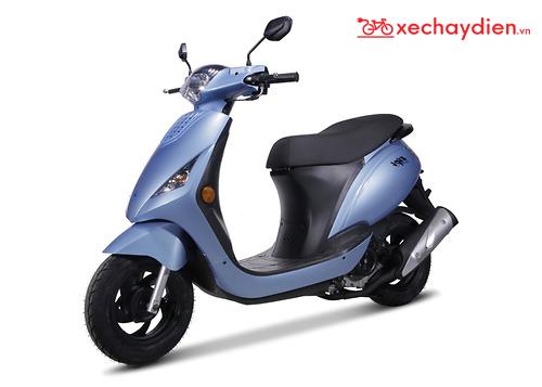 Xe tay ga 50cc Zipi màu xanh đá đời mới